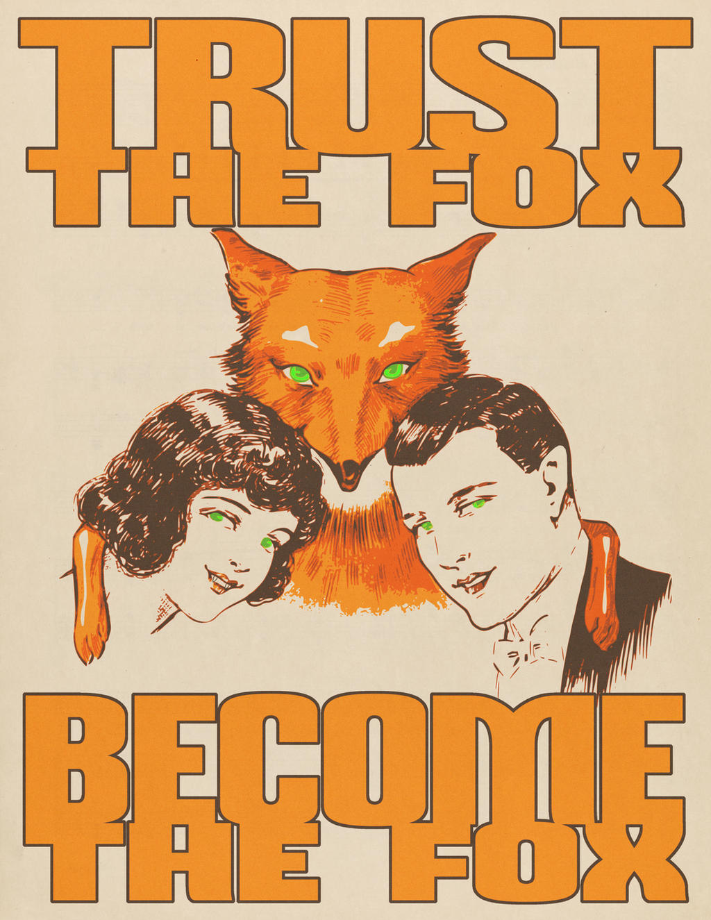 Trust the Fox, Become the Fox by nothere3