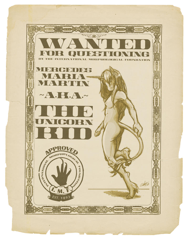 WANTED: The Unicorn Kid by nothere3