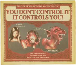 Draconic Magic: It Controls You!