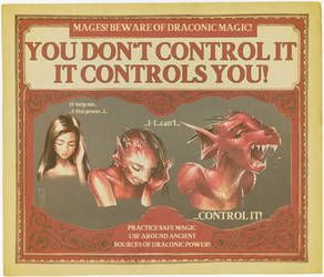 Draconic Magic: It Controls You! by nothere3