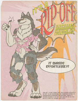 Rip-Off: Disposable Clothes for Lycanthropes!