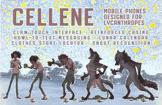 Cellene: Cell Phones for Lycanthropes