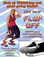 Flop-Off: Disposable Lycanthrope Shoes (clean ver) by nothere3