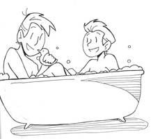 Wild Kratts - bath time!