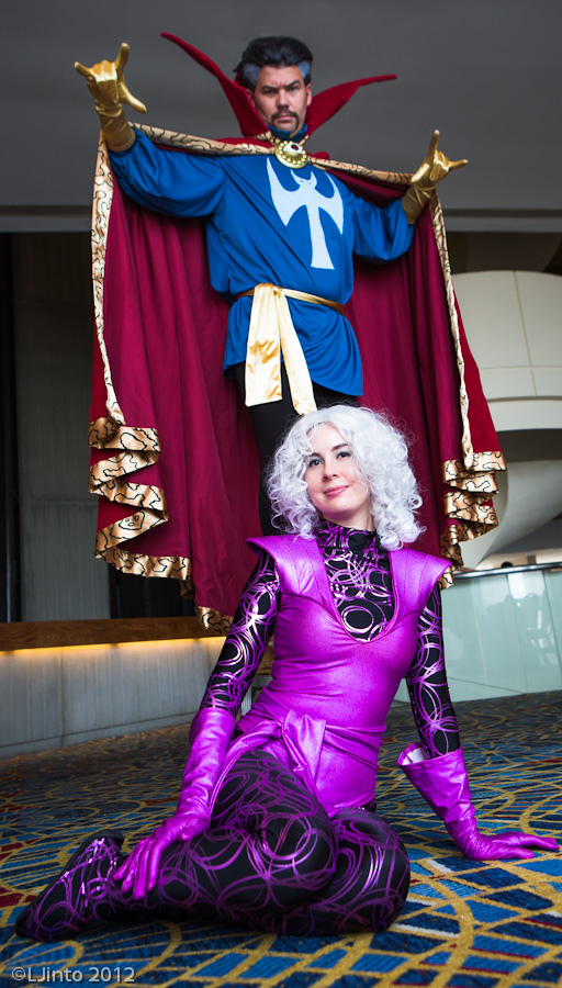 Clea and Doctor Strange by TwinklebatCosplay
