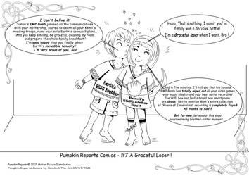 Pumpkin Reports Comics - #7 A Graceful Loser !