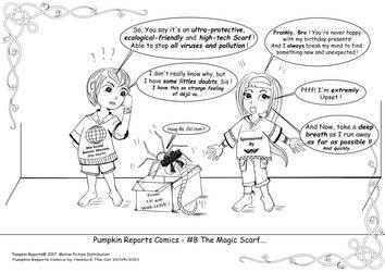 Pumpkin Reports Comics - #8 The Magic Scarf...