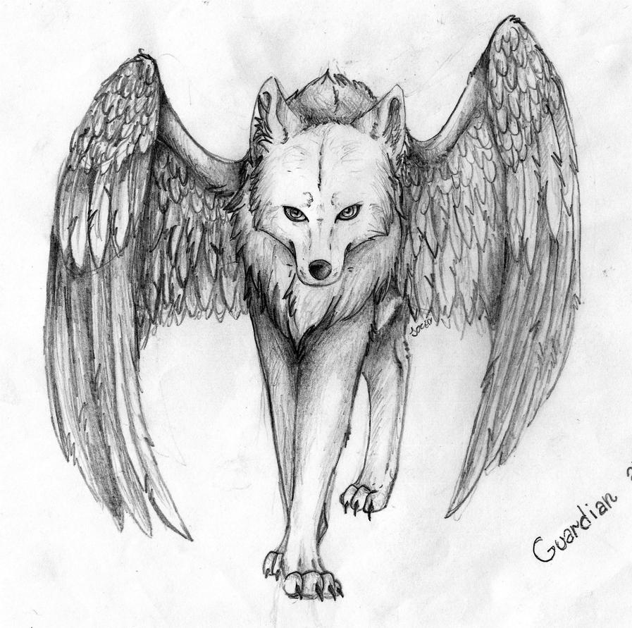 Guardian Angel by PandorasWolf on DeviantArt