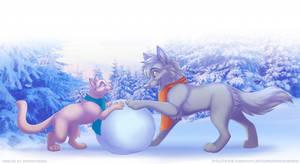 Winter freeline by Aerofistashka