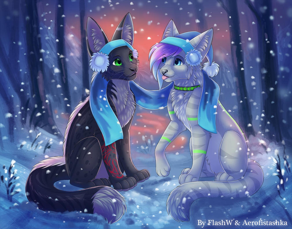 Soft snow by Aerofistashka