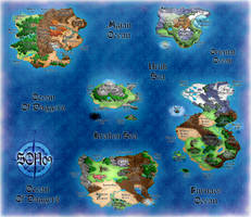 The Grand World: National Map by pendragon55