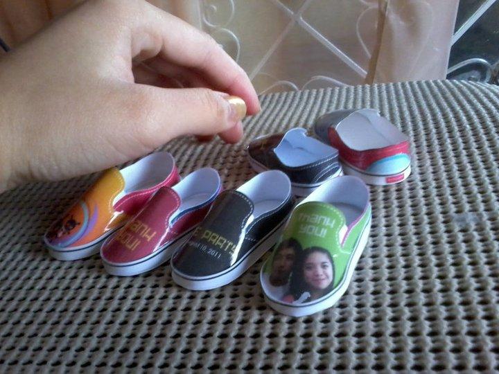 Paper Shoe Pattern Design Patterns