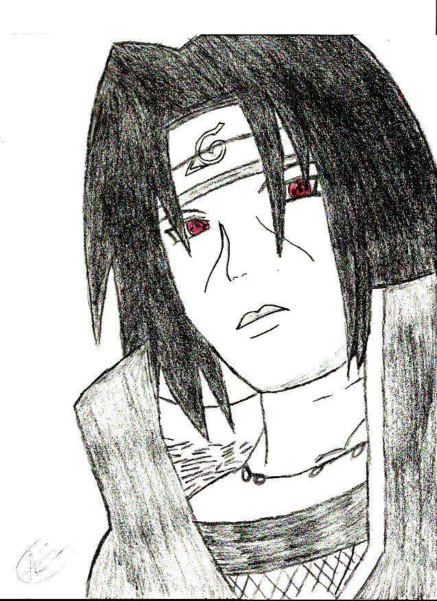 Itachi by SnowFallAtTwilight