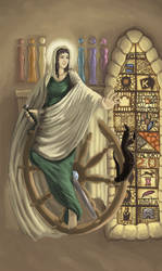 Saint Catrina by TheraHedwig