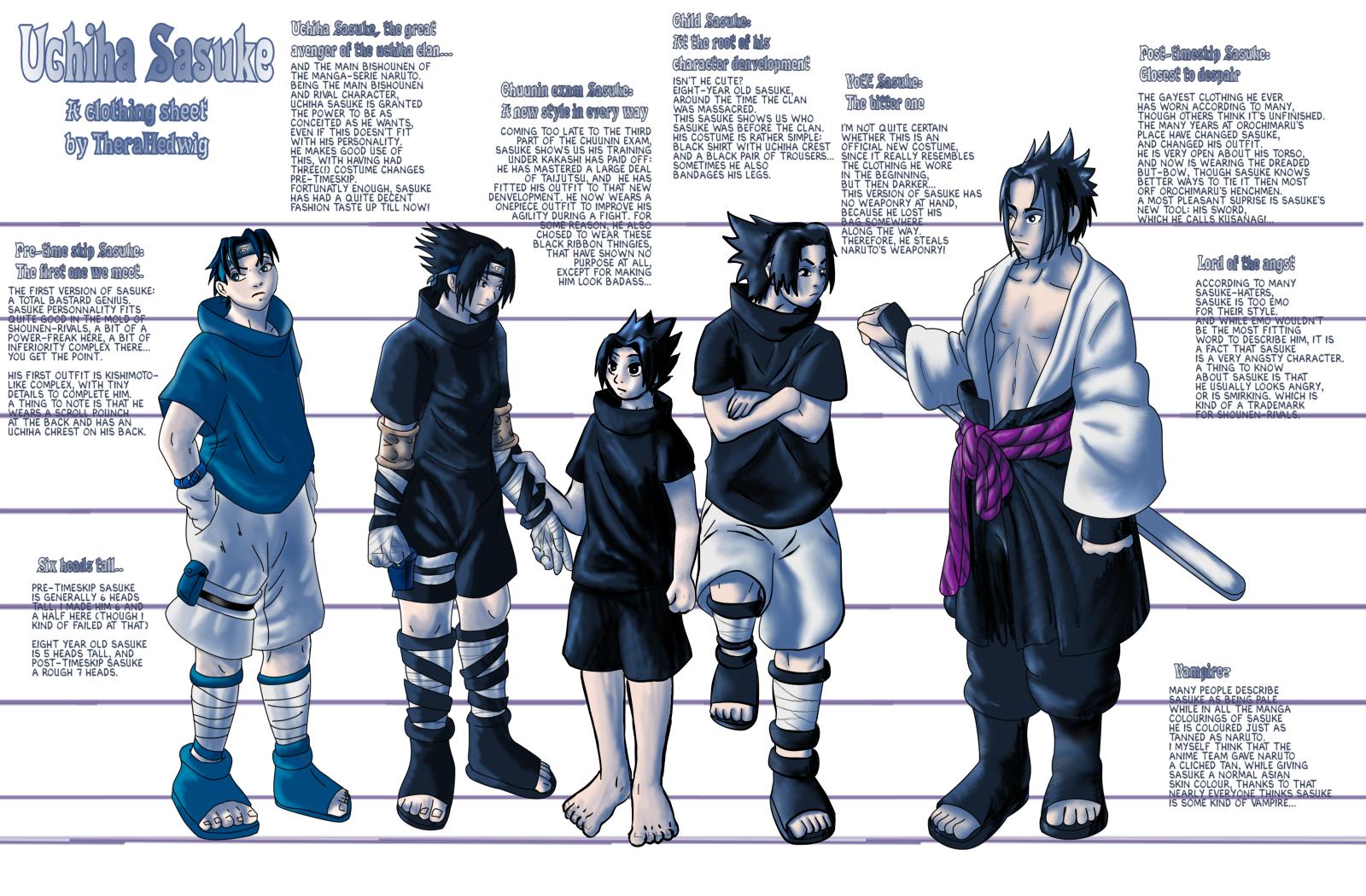 Image Gallery Sasuke's Outfit