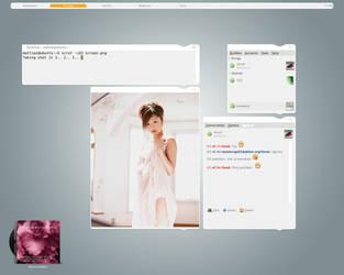 Ubuntu Desktop - October 2008 by lassekongo83