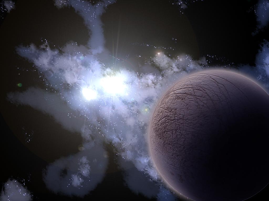 Space Scenery Wallpaper by lassekongo83