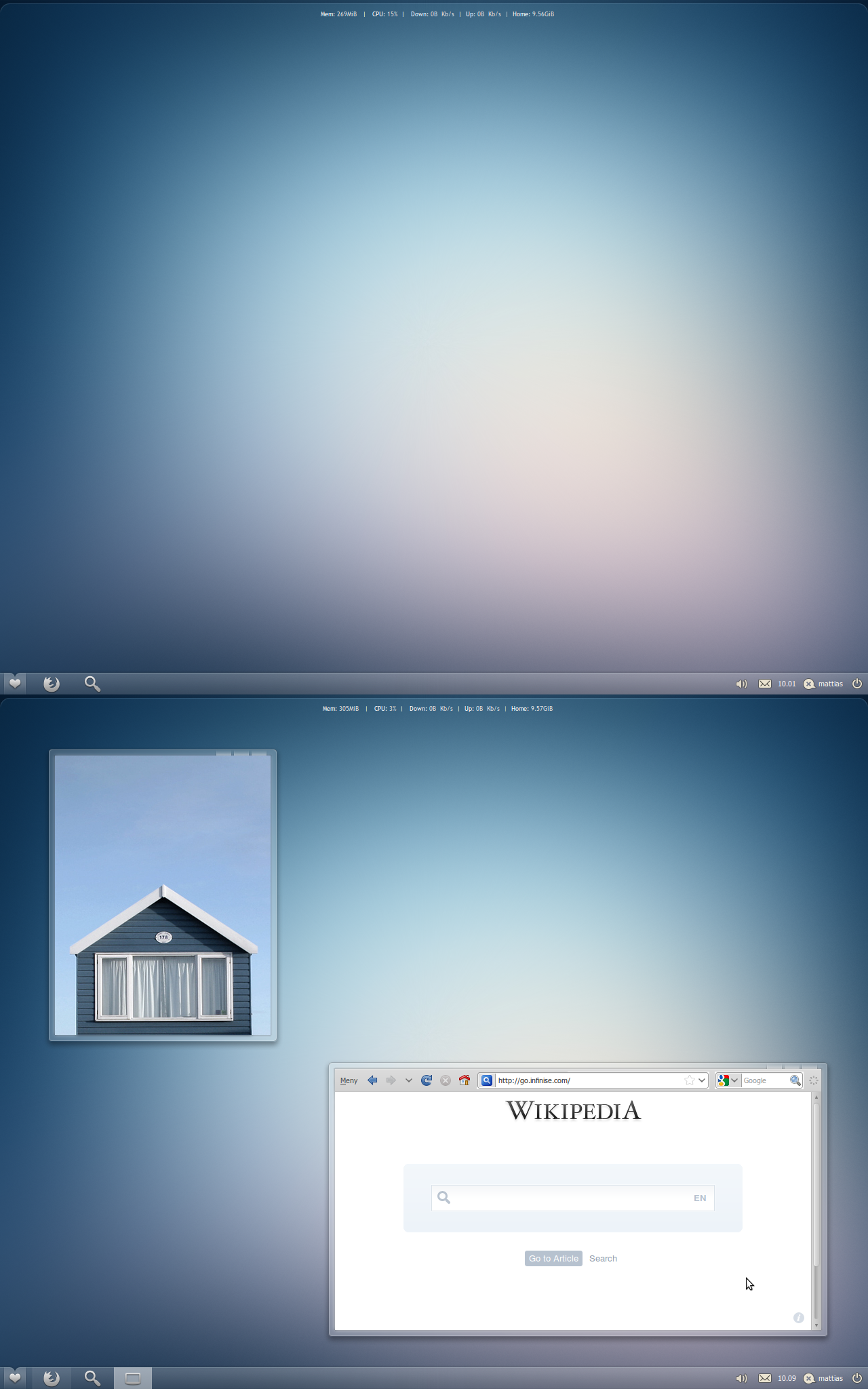 Ubuntu May 2010 Screenshot by lassekongo83