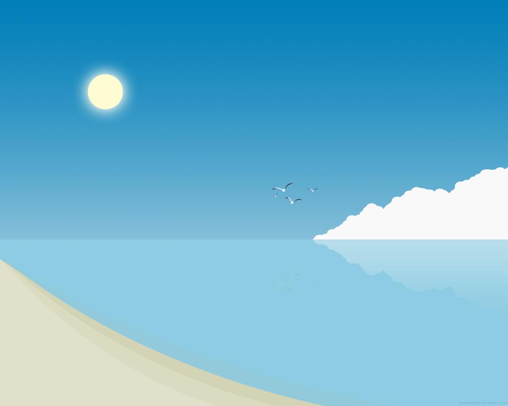 Simple Beach 2 by lassekongo83