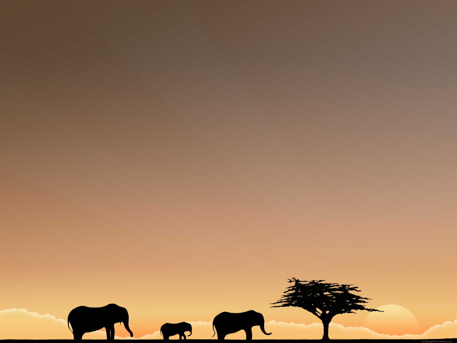 The Elephants Trip by lassekongo83
