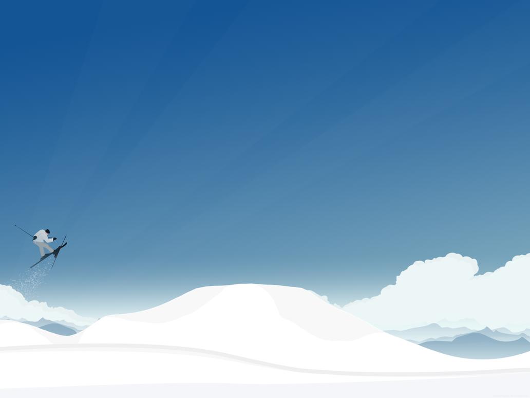 Ski and enjoy the scenery by lassekongo83