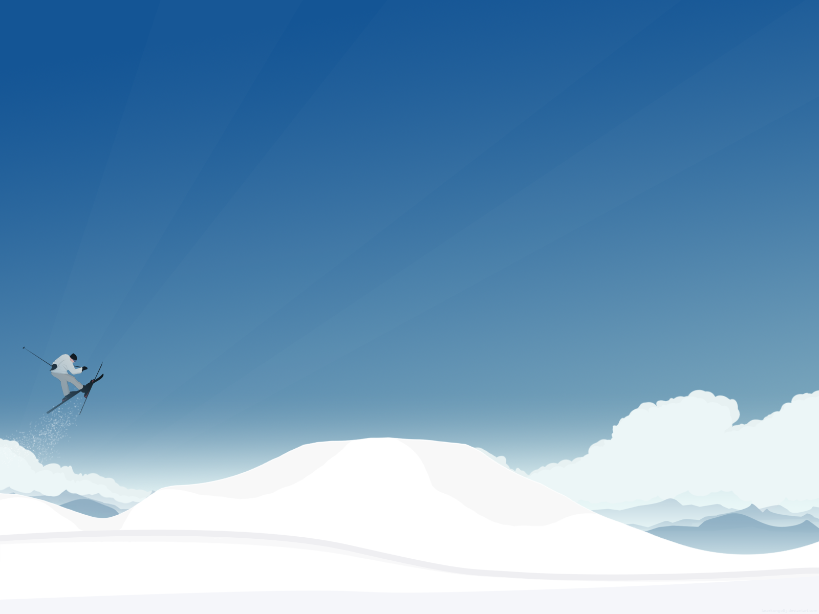 Ski and enjoy the scenery