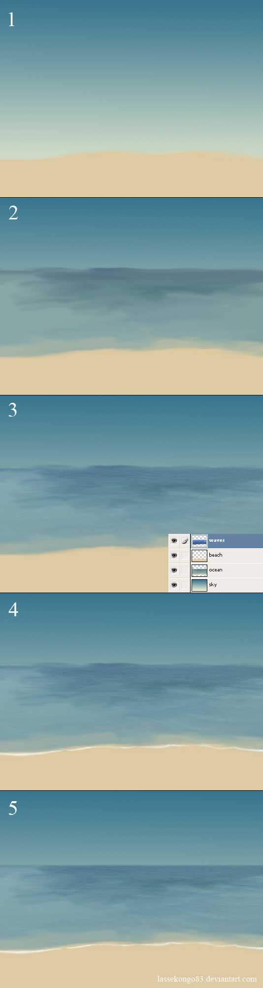 Simple ocean tutorial. by lassekongo83