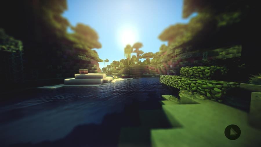 Minecraft Wallpaper by lpzdesign