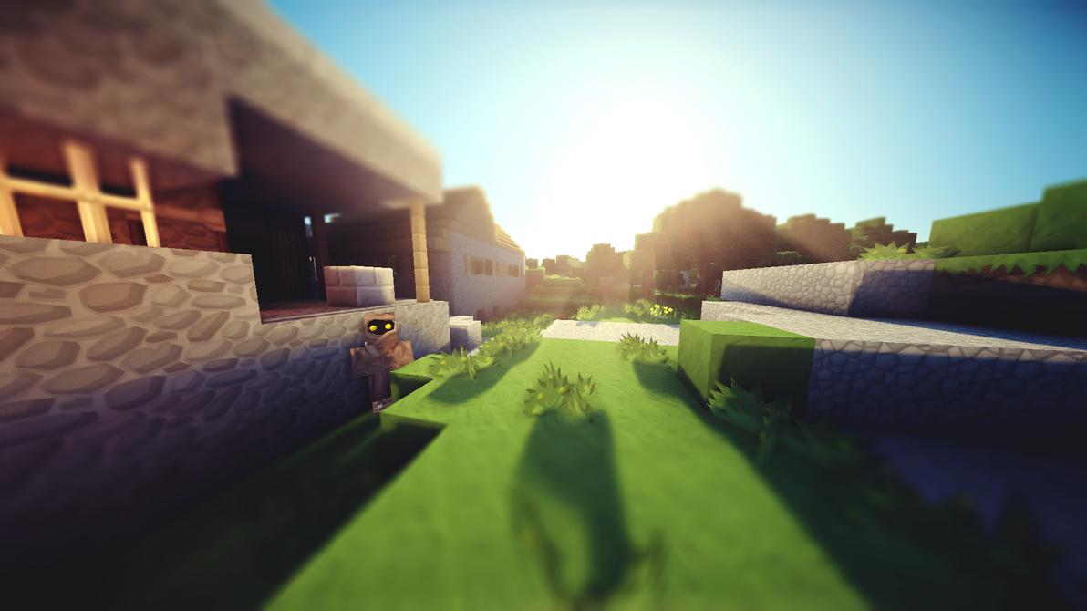 Minecraft Wallpaper 2 By Lpzdesign