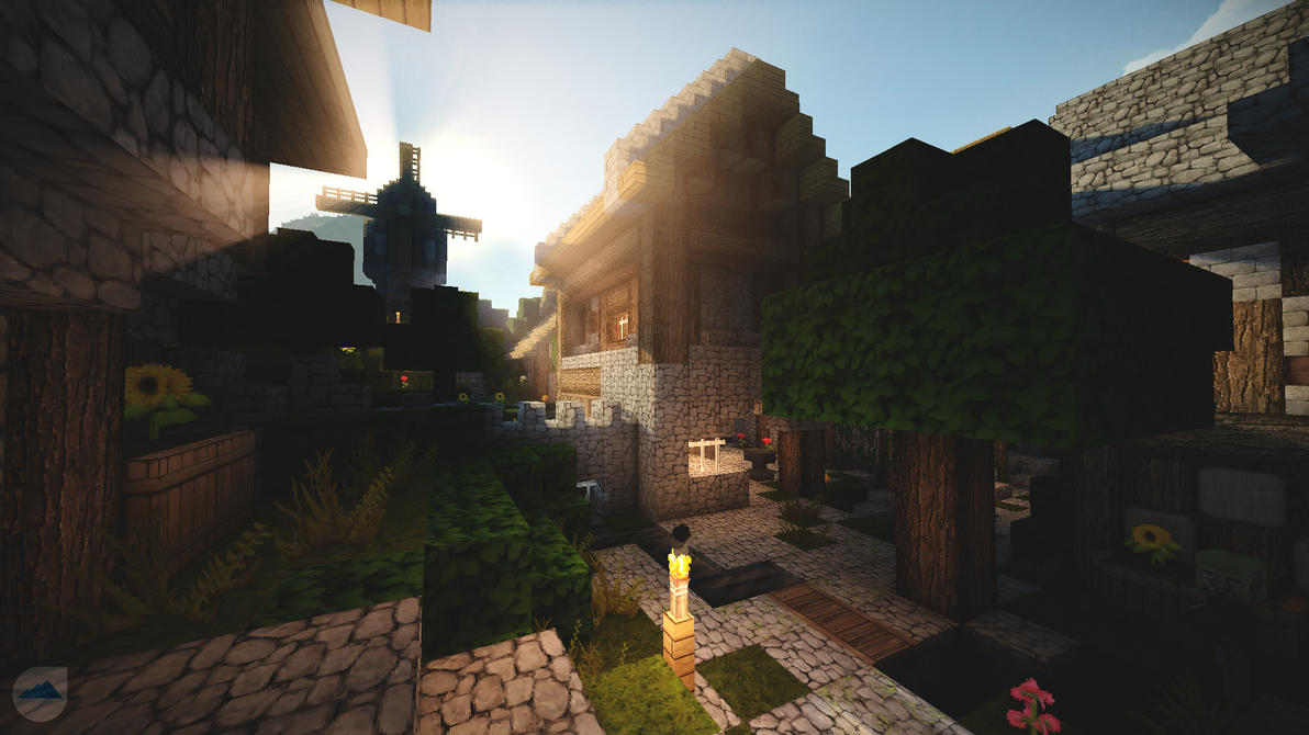 Minecraft in the morning :) by lpzdesign