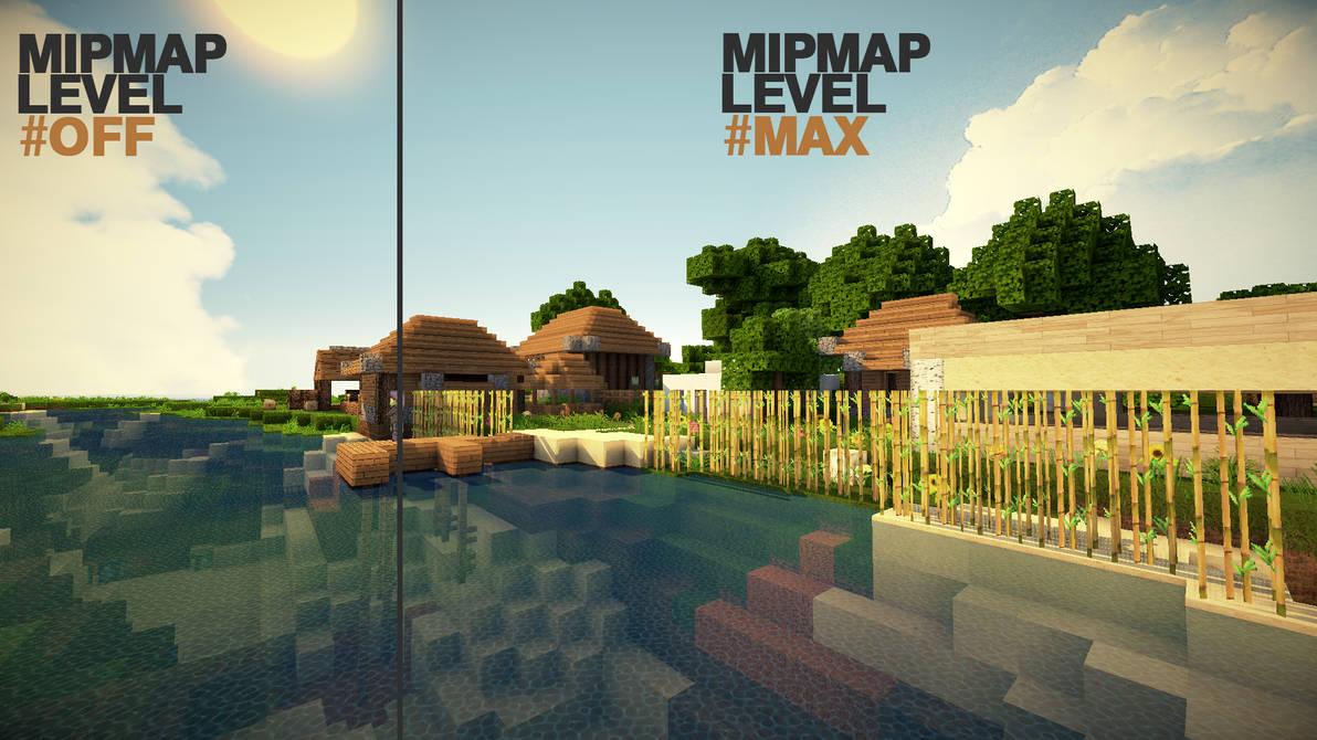 Minecraft - Mipmap Level Effect by lpzdesign on DeviantArt