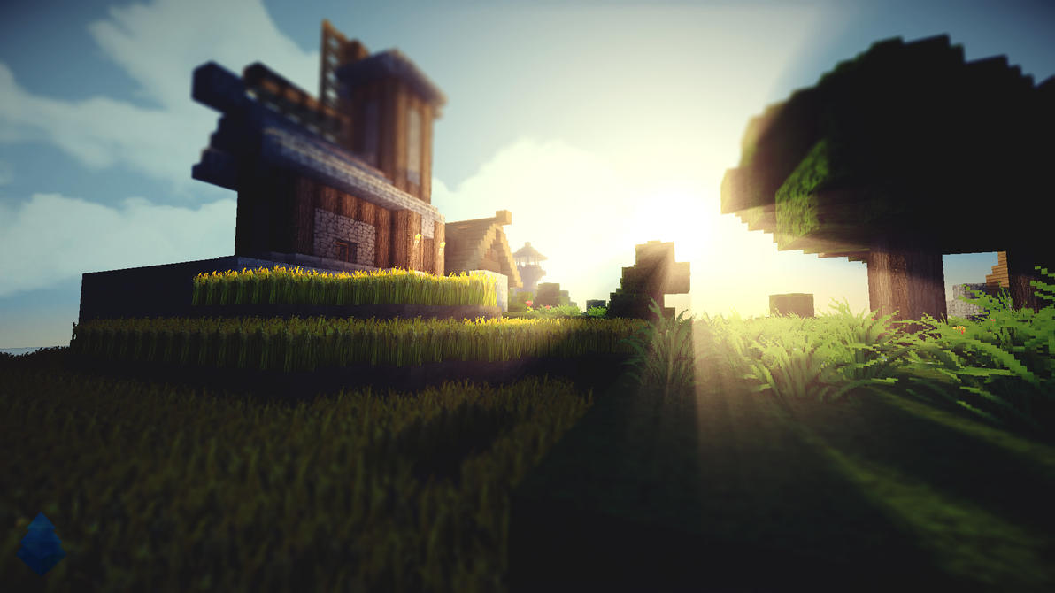 Minecraft Shaders Wallpaper Wallhavencc