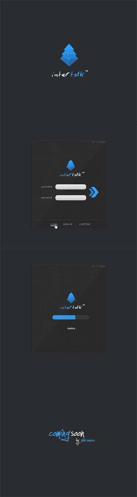 Intertalk Messenger by lpzdesign
