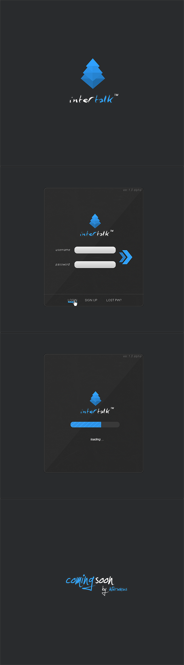 Intertalk Messenger by lpzdesign