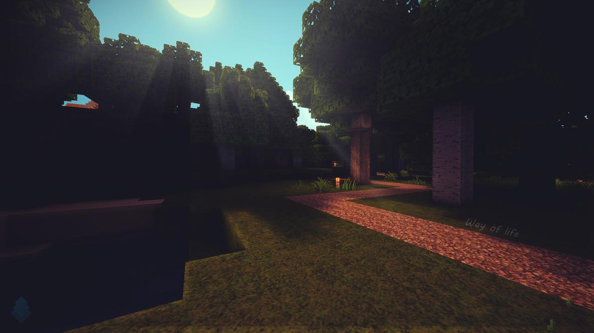 Minecraft Way Of Live Wallpaper By Lpzdesign
