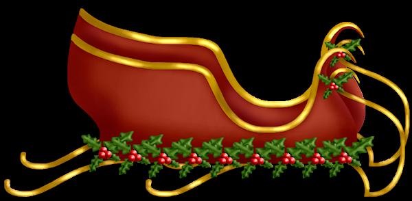 Santas sleigh png - photo#7