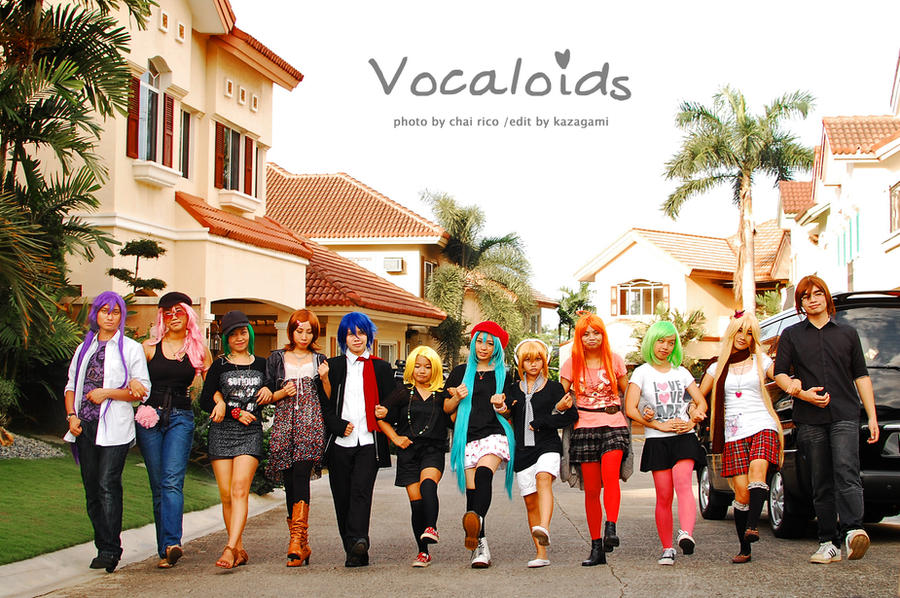 Vocaloids take a WALK by maki-chama