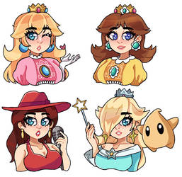 Super Mario Gals