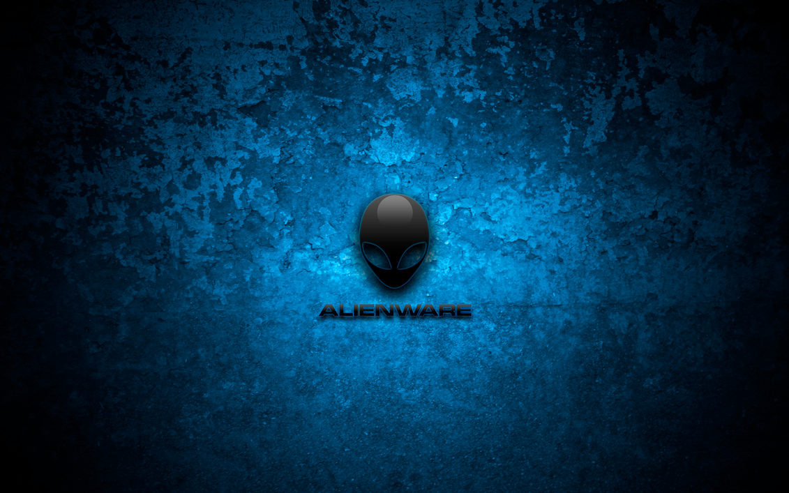 Bio-Blue Alienware Wallpaper by bobakazooboy