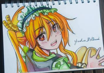 Miss Kobayashi's Dragon maid  by Wildstar-Art