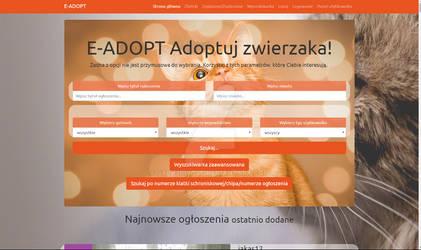 E-ADOPT WEBSITE PET ADOPTION AND CHARITY ADS