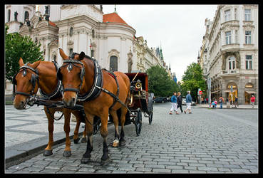 Streets Of Prague by Singularity001