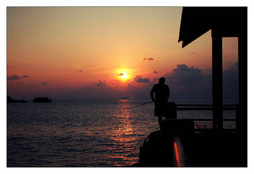 A Tioman Sunset by Singularity001