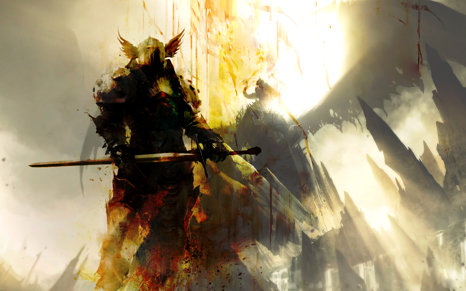 Guild Wars 2 Wallpaper By Fornaxkingspear On Deviantart