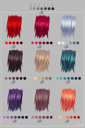 Fav Haircolors by Yettyen