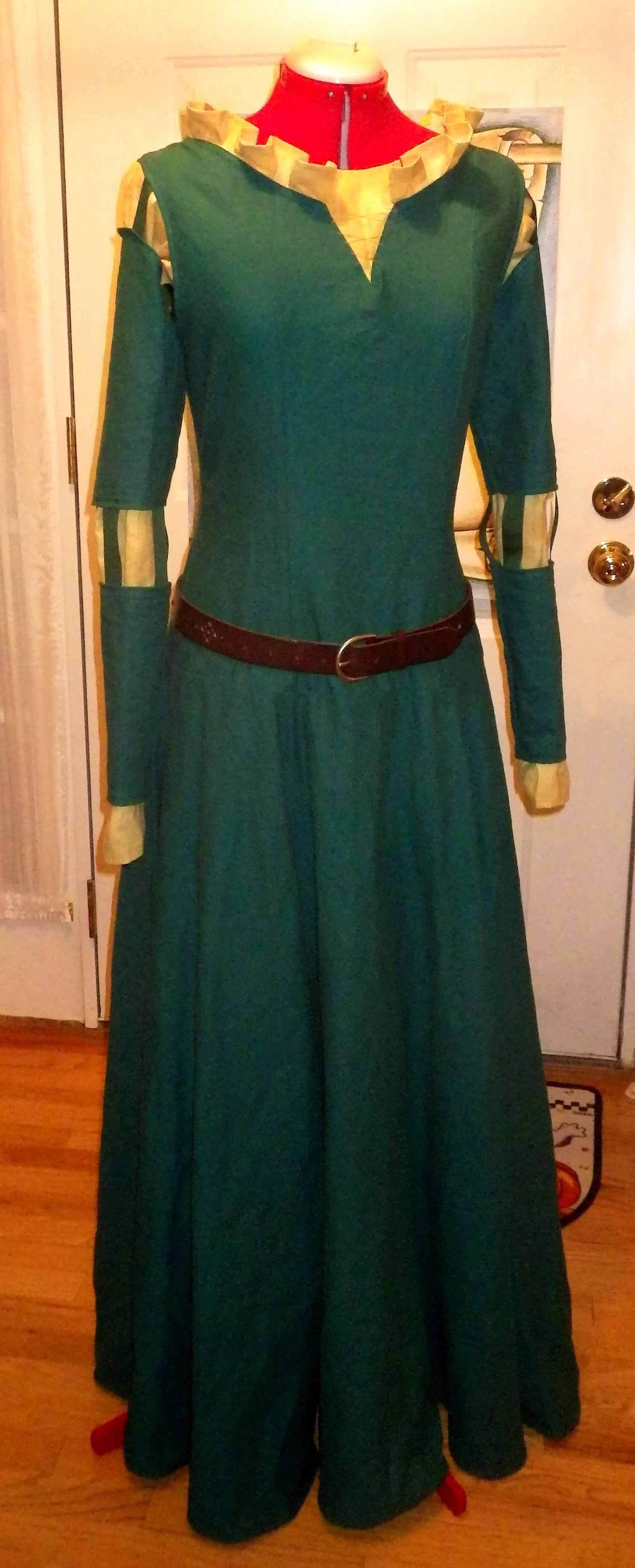 Diy Merida Costume Merida Dress Disney S Brave By Marissonantis Dqb