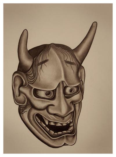 Hannya mask (Salgado2)