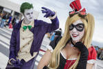 Harley Quinn Steampunk and Joker