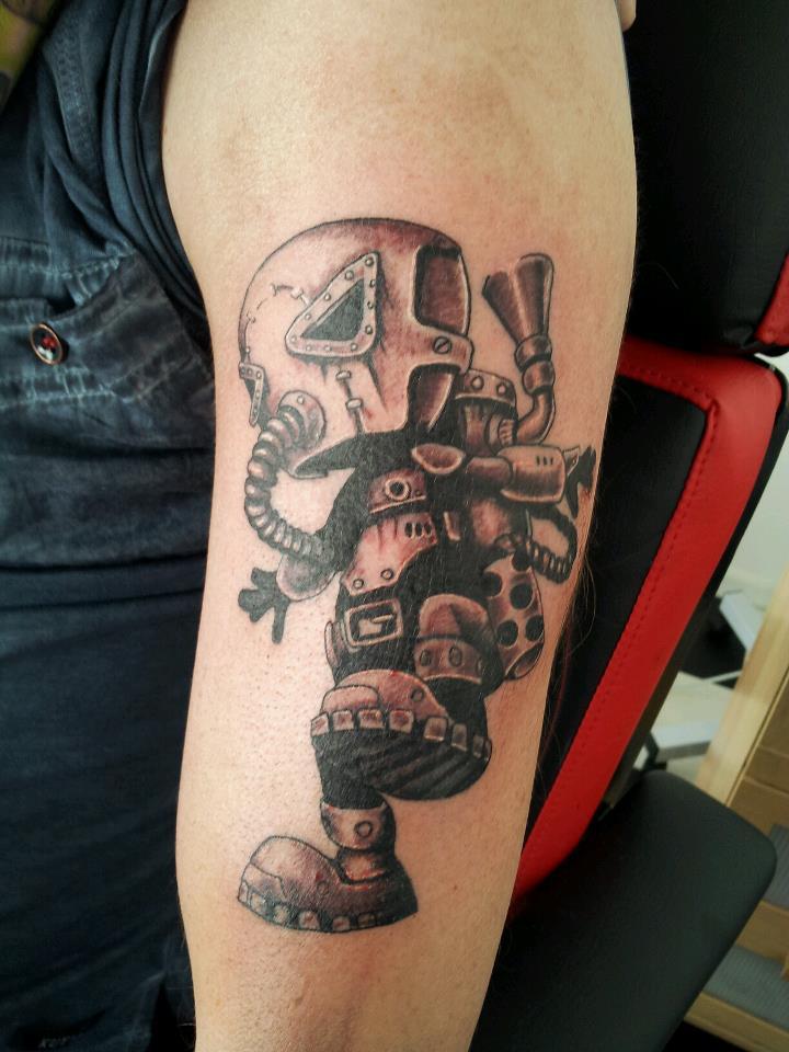 Victorian Inspired Tattoo Design