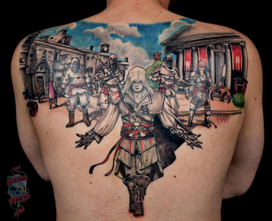 Assassins Creed Tattoo By Joeymaster On Deviantart